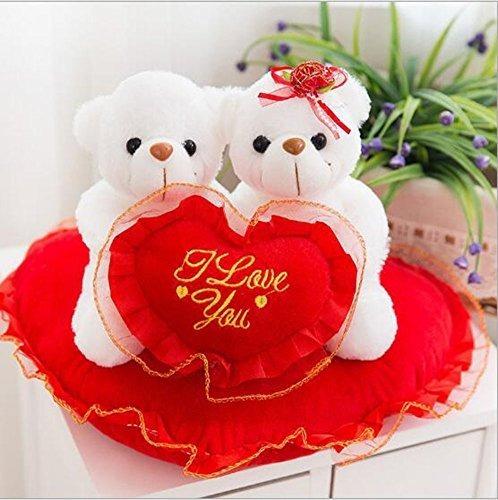 12 Felpa Lindo Osos Polares Amor Regalo De San Valentín Anim