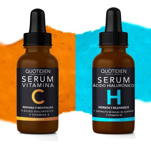 Imagen 1 de 7 de 1 Serum Vitamina C Quotidien + 1 Serum Ah Quotidien - Combo