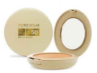 Adcos Filtro Solar Fps50 Pó Compacto Bronze 11g