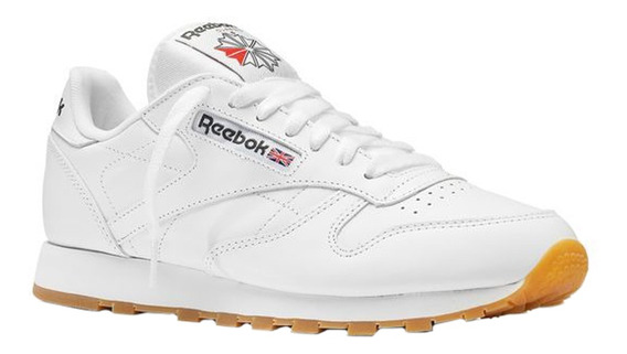 Zapatillas Reebok Moda Classic Leather Hombre Bl/bl