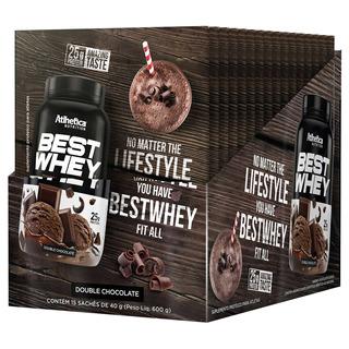 Best Whey Display C/15 Double Chocolate