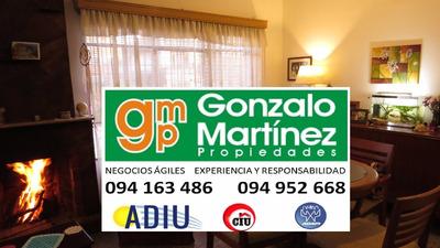 La Paz Venta Cómoda Casa 2 Dorm Terreno Gje Parrillero