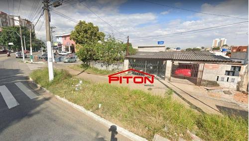 Terreno À Venda, 300 M² Por R$ 700.000,00 - Jardim Itapemirim - São Paulo/sp - Te0349