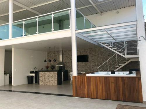Imagem 1 de 17 de Casa No Bolsão Do Campo Grande  Estilo Casa Em Condomínio! - Reo571514