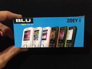 Celular Blu Zoey Ii Doble Chip Nuevoss