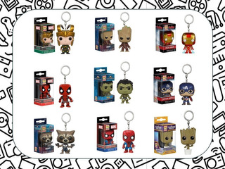 Llaveros Funko Pocket Pop: Marvel, Dc, Harry Potter, Animé