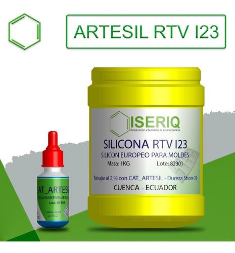 Imagen 1 de 4 de Silicona O Caucho Para Hacer Moldes - Rtv I23