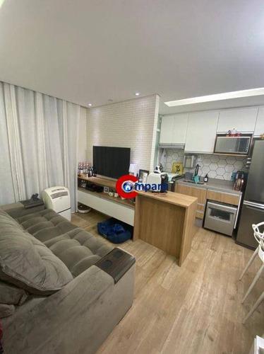 Imagem 1 de 17 de Apartamento Com 2 Dormitórios À Venda, 42 M² Por R$ 300.000,00 - Vila Galvão - Guarulhos/sp - Ap9829
