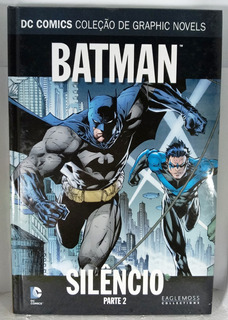 2 Hq Graphic Novels Superman Batman Dc Comics Silêncio