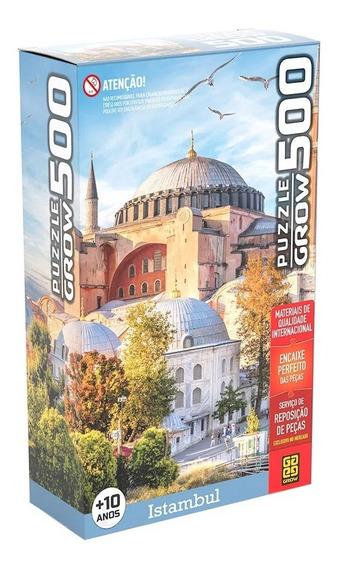 Quebra Cabeça Puzzle Grow Istambul 500 Peças