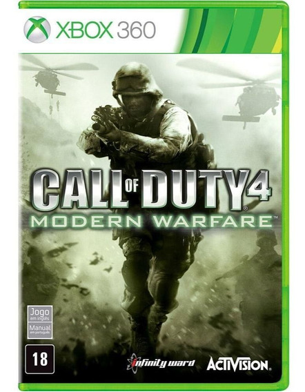 Call Of Duty Modern Warfare 4 Xbox 360 Midia Física Usado