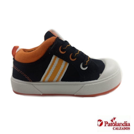Zapatillas Proforce Unisex Infantil Negro/naranja N°17/23
