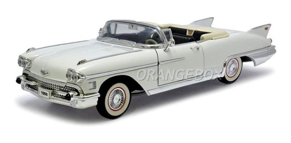 Cadillac Eldorado Biarritz 1958 Conversível 1:18 Yat Ming