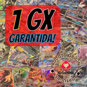 Lote 100 Cartas Pokémon 1 Gx Com 2 Lendários Em Português