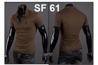 Camisa Polo Slim Fit Fashion - Girafa - Pronta Entrega