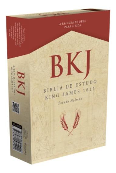 Bíblia De Estudo King James - Bkj 1611