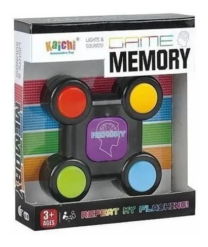 Juego De Memoria Con Sonido Y Luz Juguete Memory  Tipo Simón