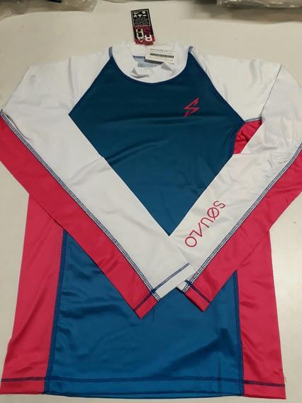 Playera De Dama Original Squalo Para Deportes Rash Guard