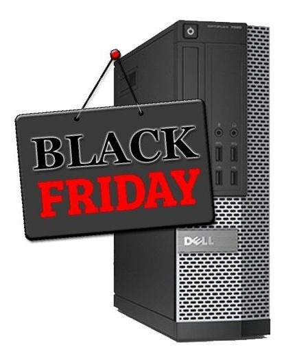 Pc Dell Sff 7010 Core I5 3°geração 8gb Hd 500gb Black Friday