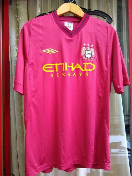 Camiseta Suplente Manchester City Inglaterra De Teves -origi