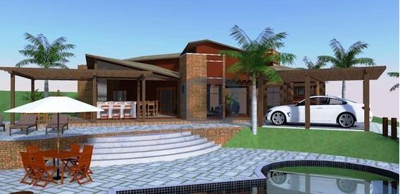Casa Residencial À Venda, Chácara Monte Belo, Santo Antônio De Posse. - Ca0284