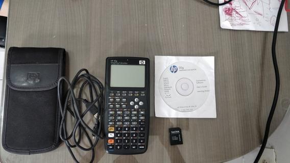 Calculadora Hp 50g Completa + Cartão De Memória Sd 2gb