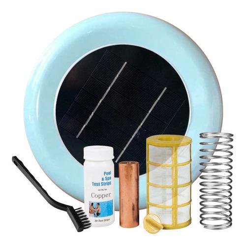 Ionizador Solar Pileta Gadnic Boya Anti Sarro Y Bacterias