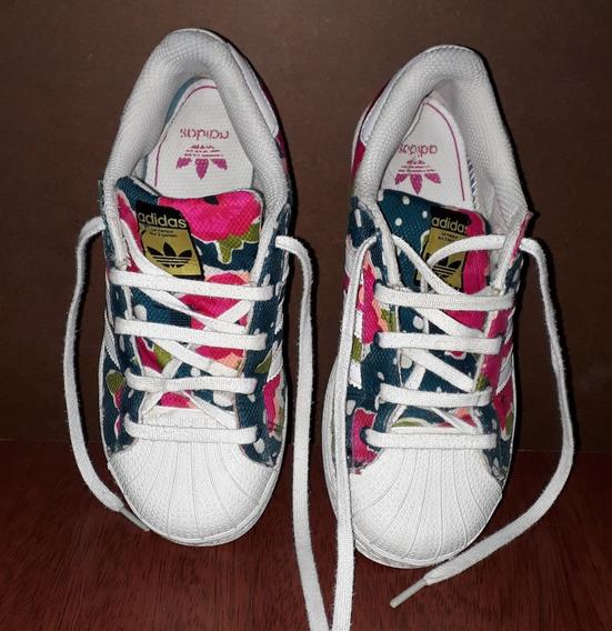 Zapatillas adidas Floreadas
