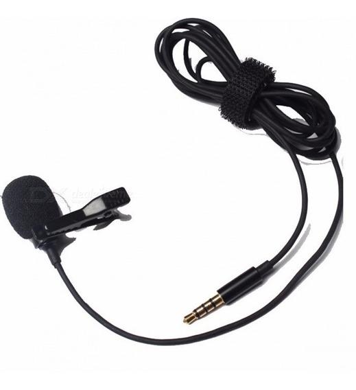 Microfone Lapela Celular, Tablet- Youtubers, Plug P2 3.5m.m