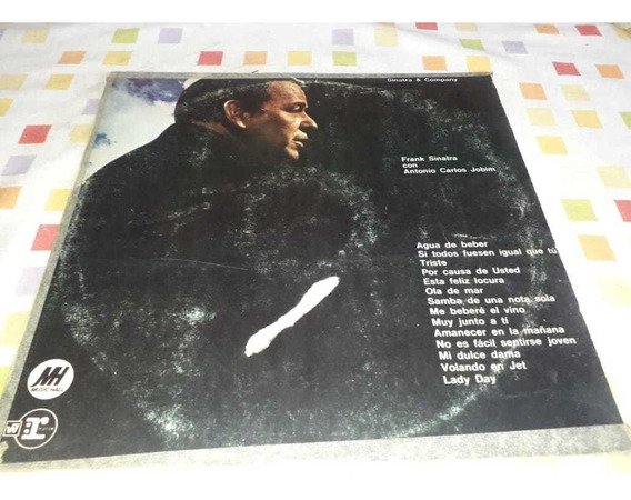 Vinilo. Frank Sinatra Antonio Carlos Jobim. Made In Usa