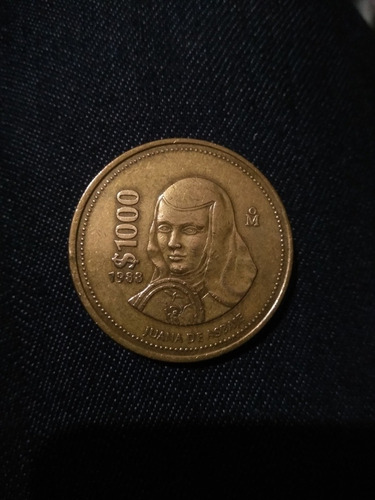 Moneda De 1000 Juana De Asbaje