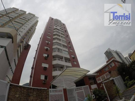 Apartamento Em Praia Grande, 02 Dormitórios Sendo 01 Suite, Canto Do Forte, Ap-2390 - Ap2390