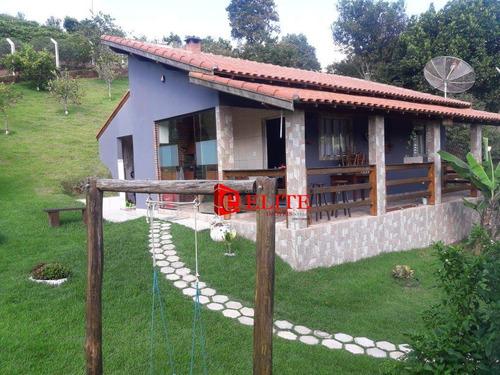 Imagem 1 de 18 de Chácara Com 2 Dormitórios À Venda, 1000 M² Por R$ 371.000,00 - Espírito Santo - Paraibuna/sp - Ch0056
