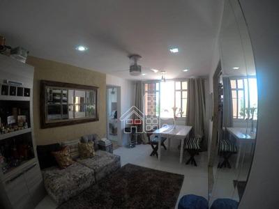 Apartamento Com 2 Dormitórios À Venda, 55 M² Por R$ 330.000 - Icaraí - Niterói/rj - Ap2416