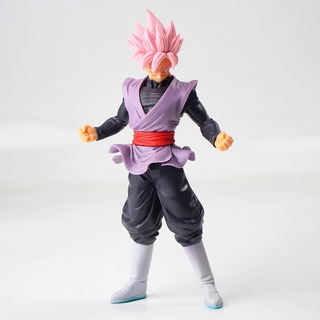Muñeco Figura Dragon Ball Super 18cm Goku Black Rose Rosa