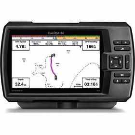 Garmin Gps Com Sonar Fishfinder Striker 5cv Chirp Downvü
