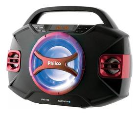 Radio Philco Pht100 Bluetooth Subwoofer Com Microfone S/fio