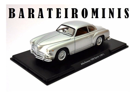 1:24 Alfa Romeo 1900 Sprint 1951 Leo Models Barateirominis