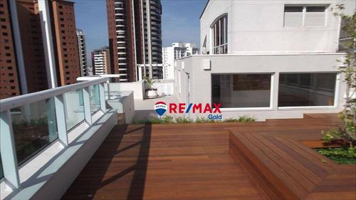 Cobertura Com 3 Dormitórios À Venda, 281 M² Por R$ 2.775.000,00 - Alto Da Lapa - São Paulo/sp - Co1449