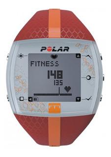 Relógio Polar Ft7 Vermelho/laranja