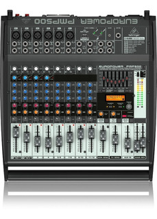 Consola Potenciada Behringer Europower Pmp500 Envío Gratis