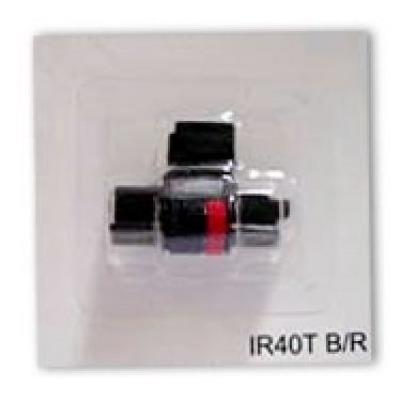 Rolete De Tinta Máquina De Calcular Ir 40 T - Bicolor C/5un