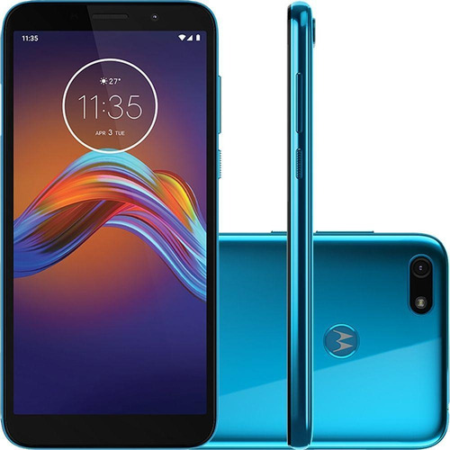 Smartphone Moto E6 Play Azul Metálico 32 Gb Motorola