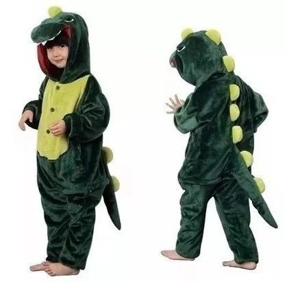 Niños Pijamas Mameluco Dinosaurio Ropa Dormir
