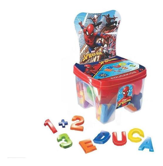 Cadeira Infantil Educakids Spiderman - Lider