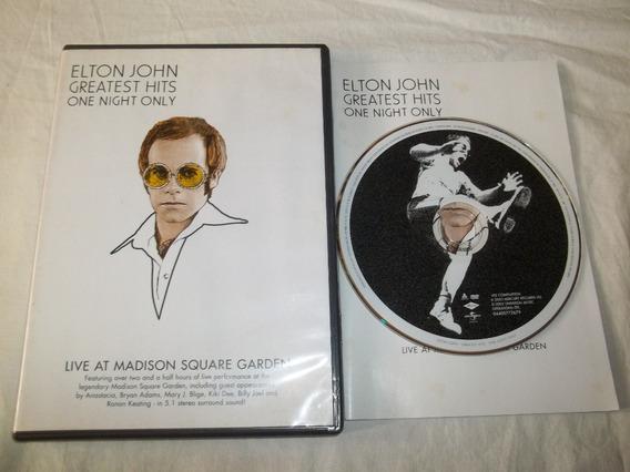 Dvd - Elton John - Greatest Hits One Night Only