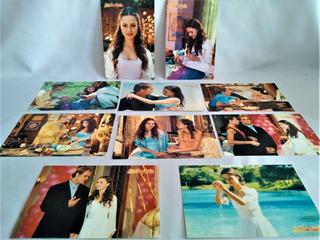 9 Maxicard Cartões Postais Estrela Guia Sandy ( & Junior )