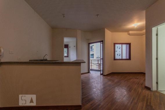 Studio No 9º Andar Com 1 Dormitório E 2 Garagens - Id: 892948682 - 248682
