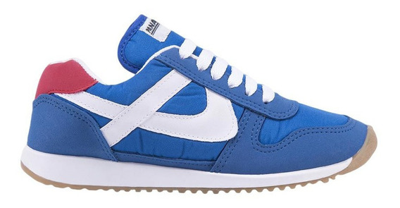 Choclo Casual Panam 0395 Color Azul