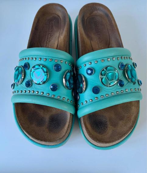 Zapatos Jazmín Chebar Con Piedras Imperdibles !